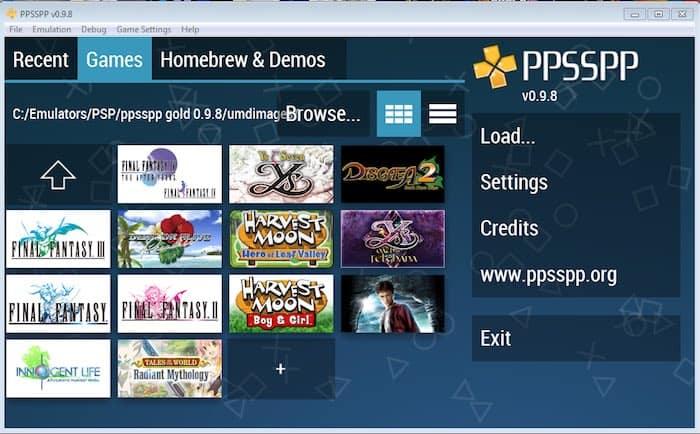 Emulator PSP Terbaik