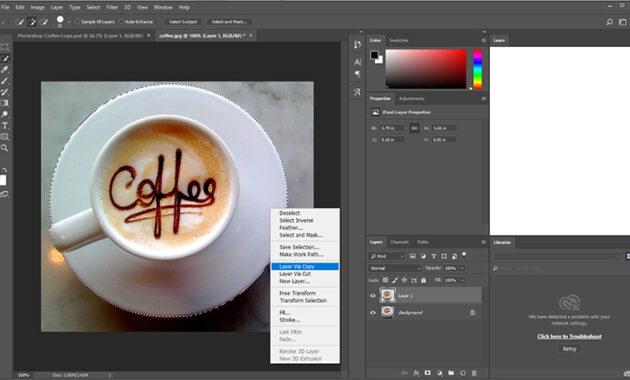 Cara menggunakan Alat Pemilihan Photoshop.