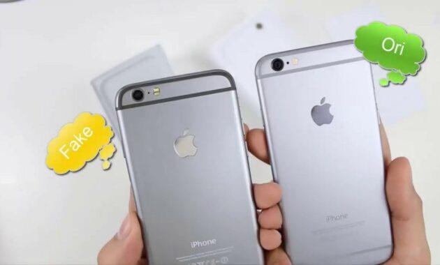 5 Cara Jitu Membedakan iPhone Asli dan Palsu