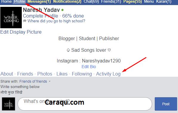 cara menghapus pertemanan di facebook