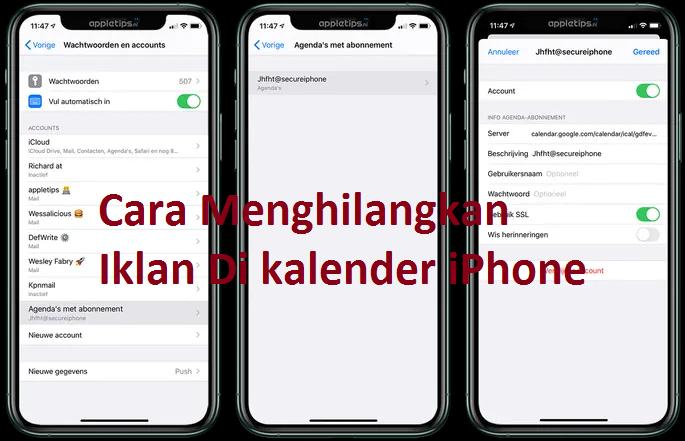 cara menghilangkan iklan di iPhone