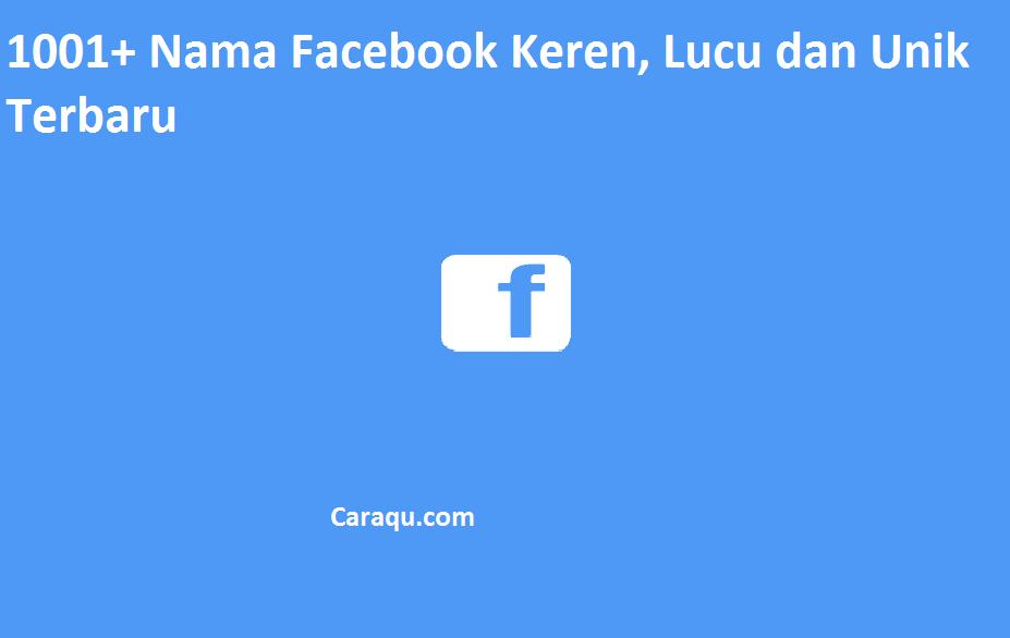 Nama Facebook Keren