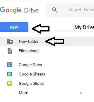 Cara Membuat Folder Di Google Drive di HP dan Laptop
