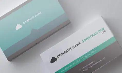 template kartu nama gratis