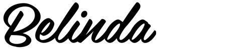 16. Belinda - font undangan pernikahan