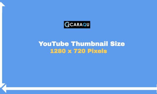 Ukuran Thumbnail YouTube yang Ideal dan Benar 2020