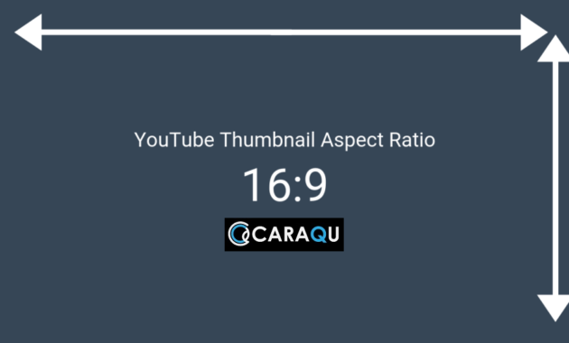 Rasio Aspek Ukuran Gambar Thumbnail YouTube