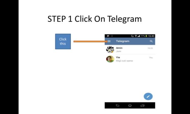 Cara logout Telegram Web dari Hp dan Tablet