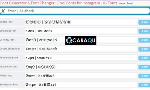 Pembuat Font PUBG keren