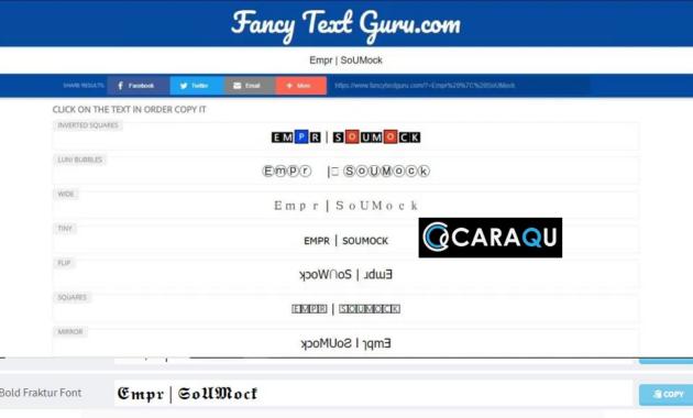 FancyTextGuru.com