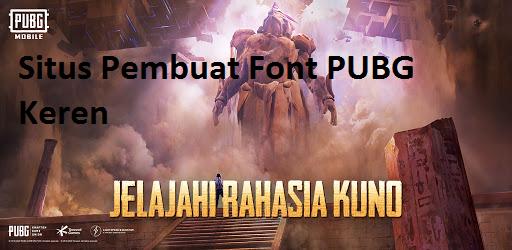 Font PUBG Keren