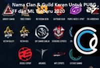 Nama Clan Keren