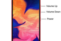 Cara Screenshot Samsung Galaxy A10
