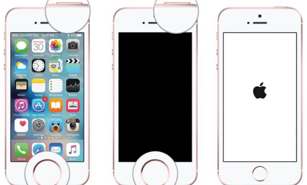 Cara Reset iPhone SE