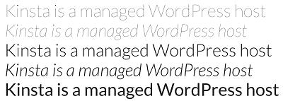 Jenis font keren dan terbaik