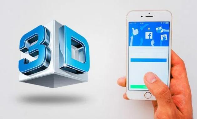 Cara Membuat foto 3D di Facebook iPhone
