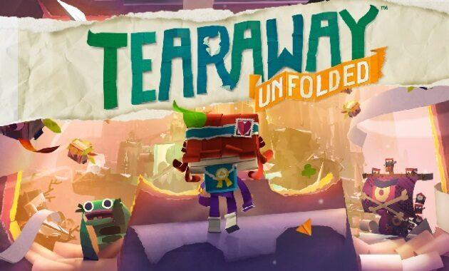 2. Tearaway: Unfolded