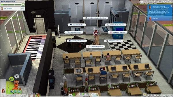 12. Bersekolah - The Sims 4 MOD Terbaik