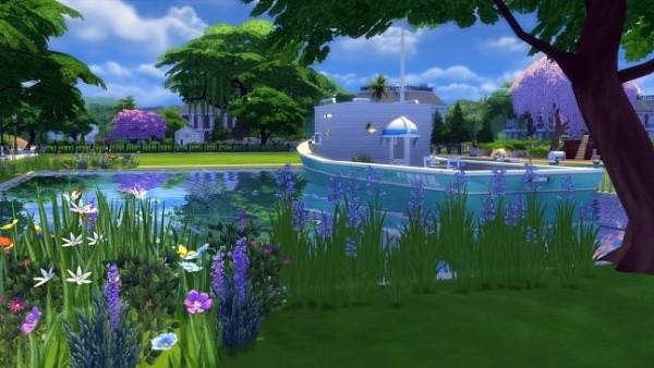 3. Bangun Rumah perahu - The Sims 4 MOD Terbaik