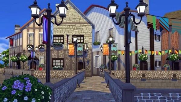 4. Tinggal di desa Prancis - The Sims 4 MOD Terbaik