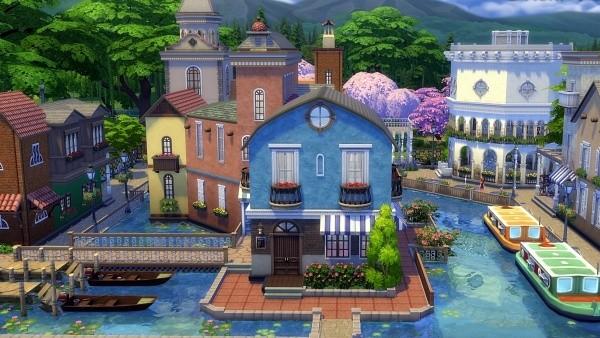 10. Nikmati sedikit Venesia - The Sims 4 MOD Terbaik