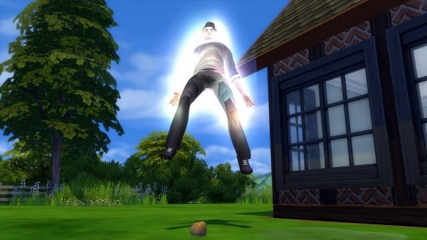 1. Menjadi penyihir - The Sims 4 MOD Terbaik