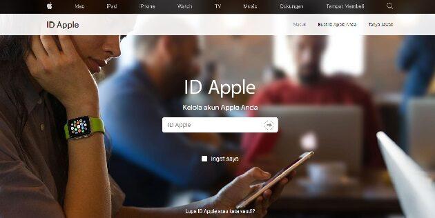 Buka kunci ID Apple dengan Mengatur Ulang Kata Sandi ID Apple