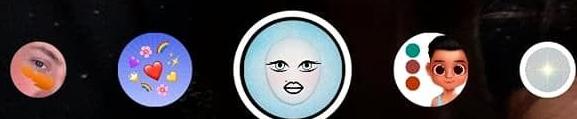 LiL Icey Eyes - Nama Efek IG lucu