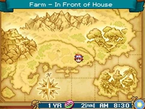 6. Rune Factory 2 - Game NDS Terbaik Sepanjang Massa
