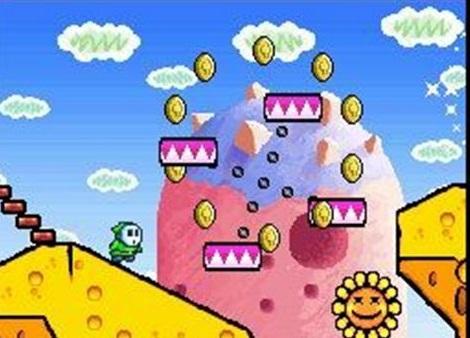 9.Yoshi's Island DS - Game NDS Terbaik Sepanjang Massa
