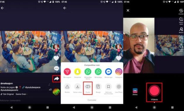 3 Cara Duet Di Tiktok Android Dan Iphone Terbaru 2021 Caraqu