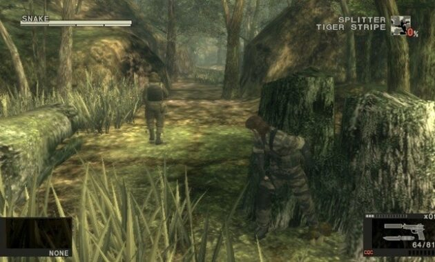 Metal Gear Solid 3: Snake Eater - Game Terbaik Di Dunia Sepanjang Masa