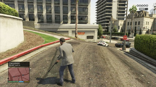 Cheat Polisi GTA 5 PS3