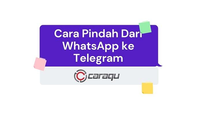 Cara Pindah Dari WhatsApp ke Telegram