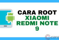 Cara Root Xiaomi Redmi Note 9