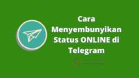Cara Menyembunyikan Status ONLINE di Telegram