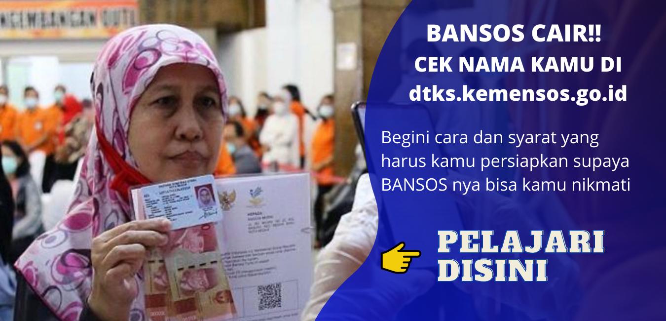 Bansos Tunai Rp 300.000 Sudah Cair Maret 2021, Cek di dtks.kemensos.go.id