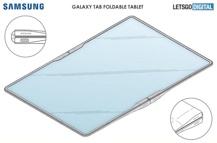 Galaxy Z Fold Tab akan hadir dengan layar lipat tiga