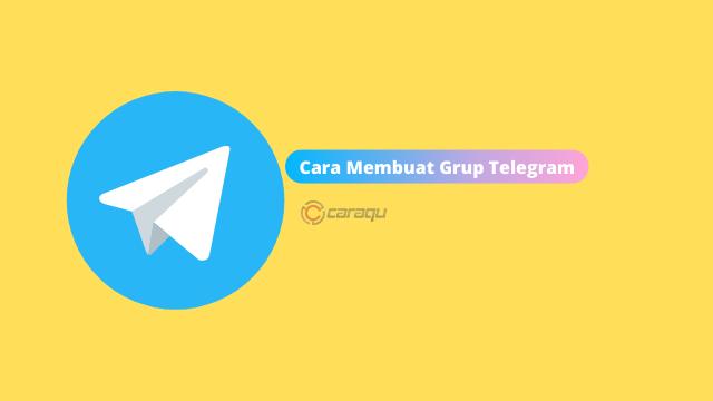 Cara Membuat Grup Telegram