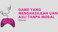 Game Yang Menghasilkan Uang Asli Tanpa Modal