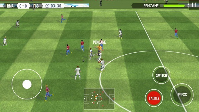 Real Football - game sepakbola offline