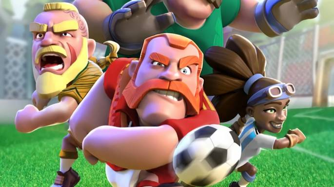 Soccer Royalegame sepakbola offline
