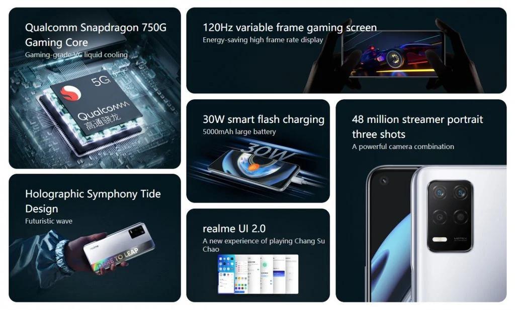 Realme Q3 5G Dengan Snapdragon 750G