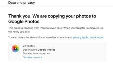 Cara Kirim Foto iCloud Langsung ke Google Foto