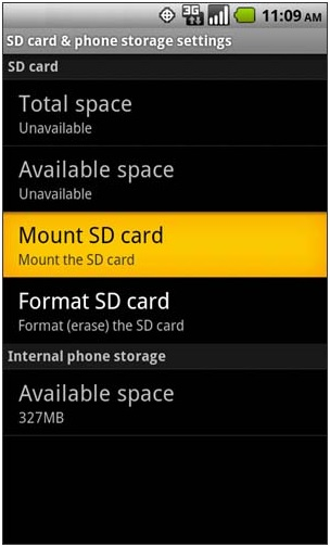 Pasang kartu SD -cara mengatasi APK tidak terpasang