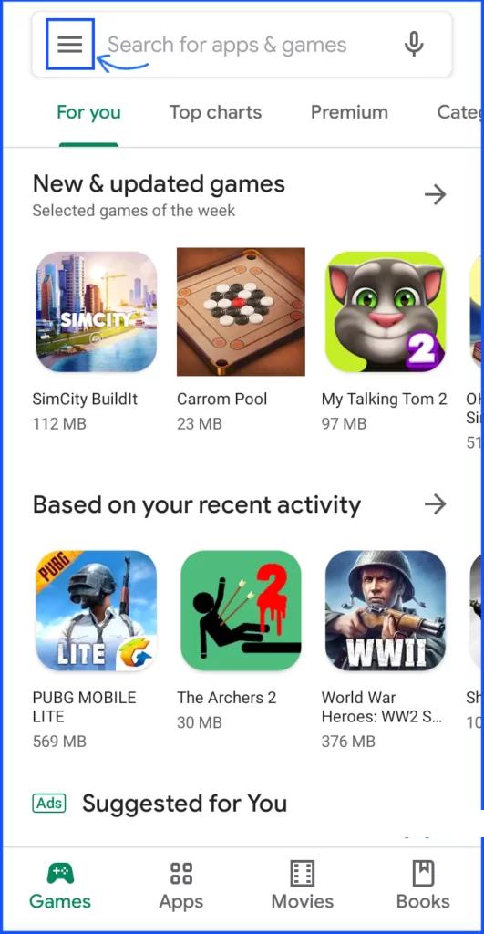 Nonaktifkan Google Play Protect