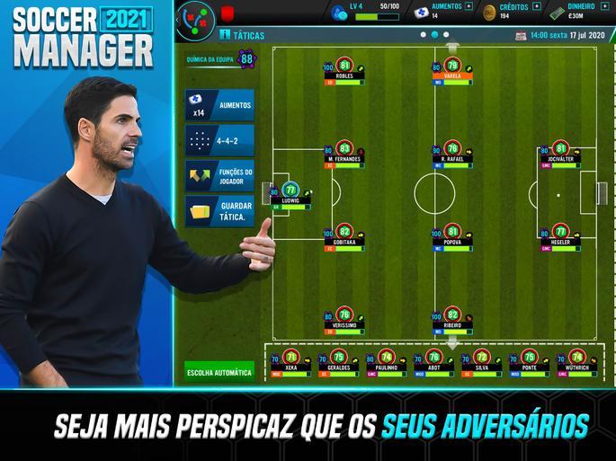 Soccer Manager 2021 - game sepakbola offline