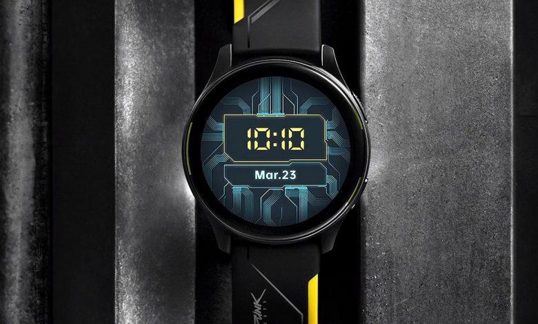 Jam Tangan OnePlus Bertema Cyberpunk 2077