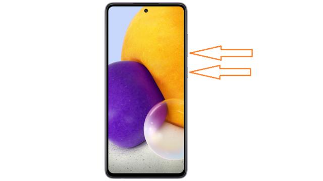 Cara Screenshot Samsung Galaxy A52 dan Galaxy A72
