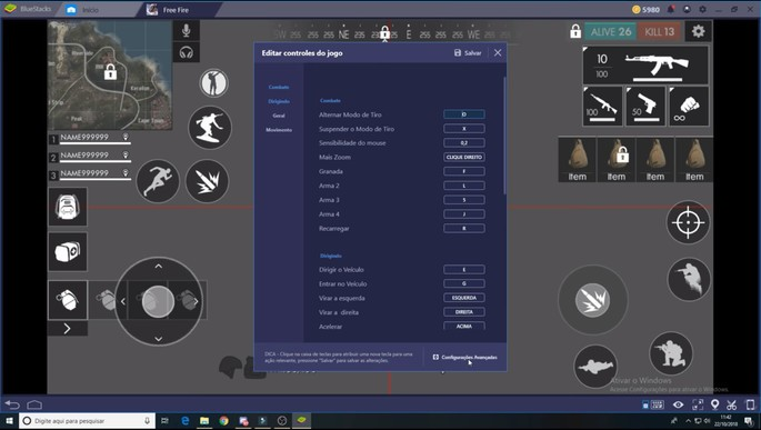 Emulator Untuk Memainkan Free Fire di PC